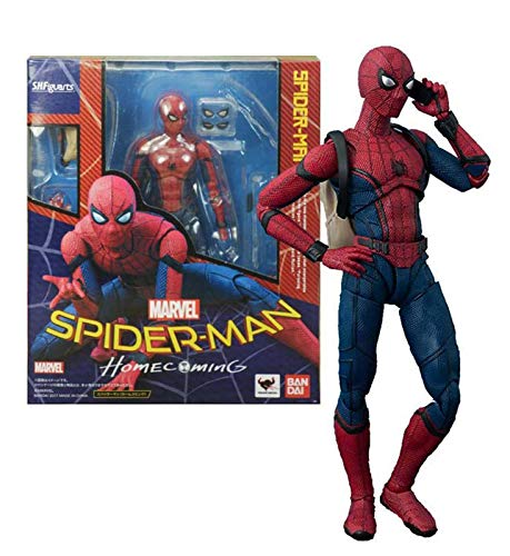 SHF Spider-Man: Homecoming Action Figur Spiderman Bewegliche Spielzeug Modell Statue Sammelbare PVC...