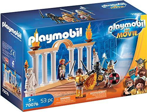 PLAYMOBIL:THE MOVIE 70076 Kaiser Maximus im Kolosseum, Ab 5 Jahren