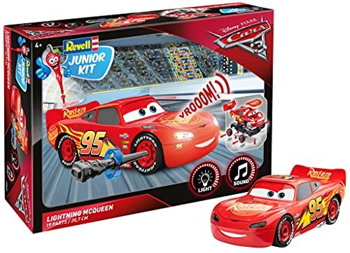 Lightning McQueen von Revell Junior Kit - Disney Cars 3 - cooler Bausatz für Kinder ab 4 Jahren zum...