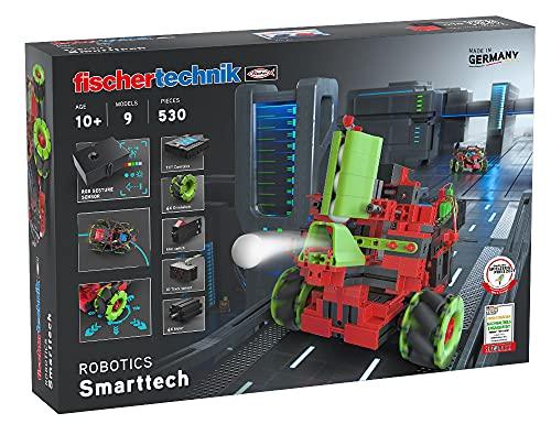 fischertechnik 559891 Bausatz Robotics SmartTech mit coolen Omniwheels-9 spannende Roboter Modelle zum...