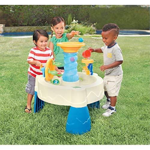 Little Tikes Spiralin' Seas Wassertisch - Gartenspiel - Fördert aktives und fantasievollen Spielen -...