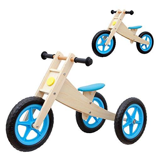 Vinz Laufrad 2 in 1 | Kinderlaufrad Lernlaufrad Lauflernrad | ab 1 Jahre (18 Monaten) | Kinder Fahrrad...