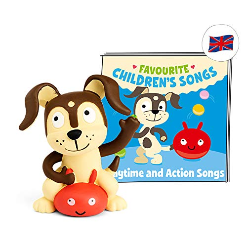 tonies Hörfigur (Englische Version) Favourite Children's Songs für die Toniebox: Playtime and Action...