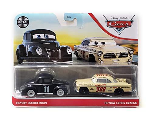 Auswahl Doppelpack | Disney Cars | Fahrzeug Modelle 2020 | Cast 1:55 | Mattel, Typ:Heyday Junior Moon &...