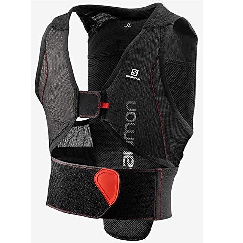 Salomon Kinder Ski-Rückenprotektor, Verstellbar, MotionFit, Atmungsaktiv, Flexcell Junior, Größe JXL,...
