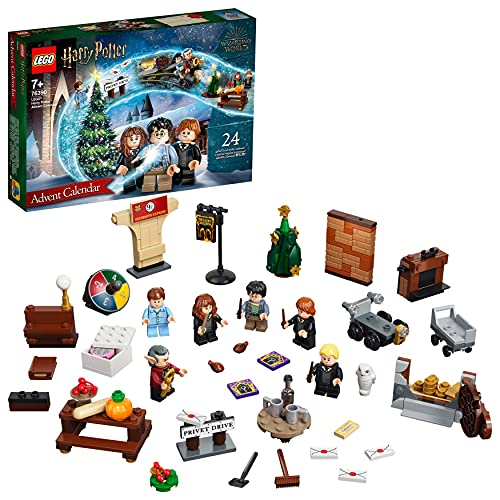 LEGO 76390 Harry Potter Adventskalender 2021 Spielzeugset, Weihnachtsgeschenk für Kinder ab 7 Jahren mit...