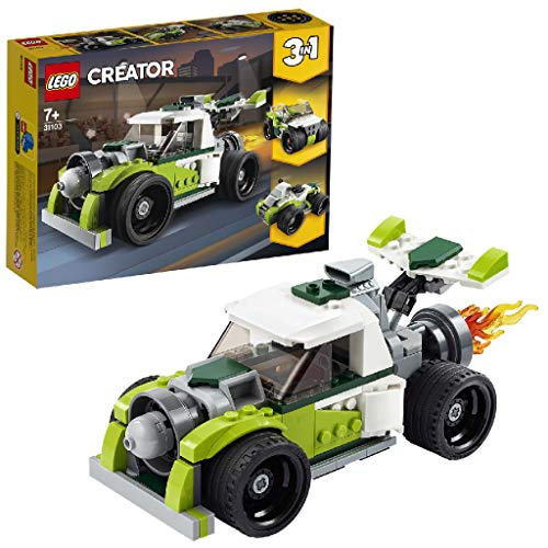 LEGO 31103 Creator 3-in-1 Raketen-Truck - Geländewagen - Quad, Bauset