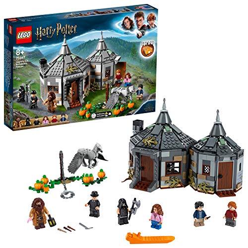 LEGOHarryPotter und der Gefangene von Askaban 75947- Hagrids Hütte: Seidenschnabels Rettung,...