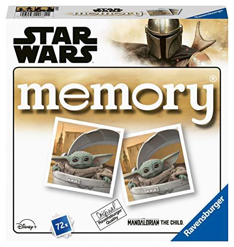 Ravensburger 20671 - The Mandalorian Memory -Star Wars, der Spieleklassiker für alle Star Wars Fans,...
