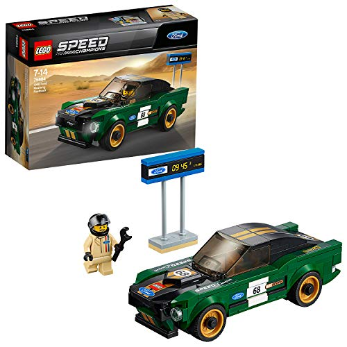 LEGO Speed Champions 1968 Ford Mustang Fastback 75884 Konstruktionsspielzeug