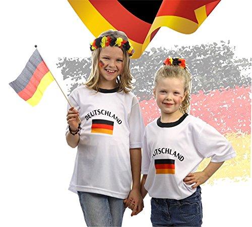 TK Gruppe Timo Klingler Tshirt Shirt 158/164 Trikot Deutschland Fußball Fussball Rundhals Fußballtrikot...