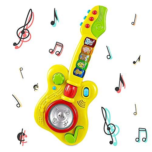 Think Gizmos Spielzeug-Musikgitarre für Kleinkinder TG729 - Spielzeug-Musikinstrument, Geschenk für...