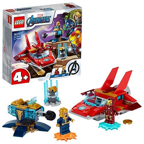 LEGO76170MarvelAvengersIronManvs.ThanosmitJetund2SuperheldenFiguren,Spielzeug...