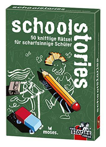 moses. black stories Junior school stories| 50 knifflige Rätsel für Schüler | Das Rätsel Kartenspiel...