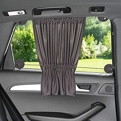 Sonnenschutz fürs Auto mit Vorhang-Funktion