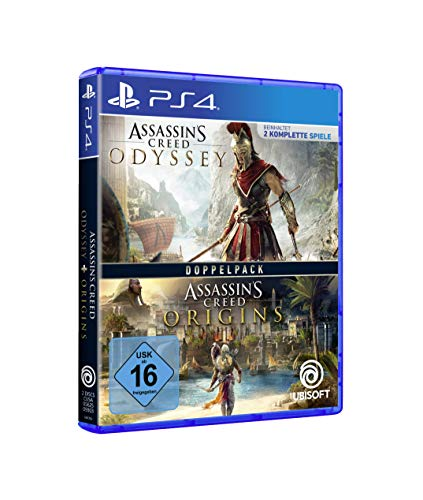 Assassin's Creed Odyssey + Assassin's Creed Origins DOPPELPACK [PS4]