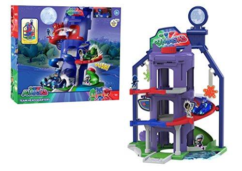 Dickie Toys PJ Masks Hauptquartier, Spielset zur Serie inkl. Catboy in Catcar, viele Funktionen,...