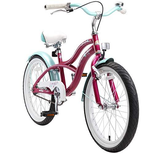 BIKESTAR Premium Sicherheits Kinderfahrrad 20 Zoll für Mädchen ab 6 - 7 Jahre ★ 20er Kinderrad...