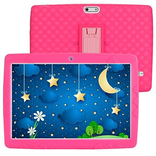 SANNUO Tablet für Kinder 10 Zoll Android 10.0 Tablet, RAM 3 GB ROM 32 GB, unterstützt 3G...