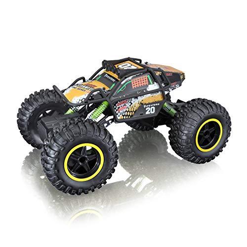 Maisto Tech R/C Rock Crawler Pro Series: Ferngesteuertes Auto in Monstertruck-Ausführung, mit...