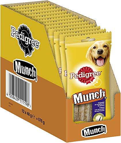 Pedigree Munch Kausticks – Hundesnack zur Stärkung der Kaumuskulatur – Ideal als Belohnung oder...