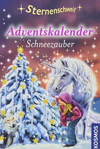 Sternenschweif,Adventskalender: Schneezauber. Mit wundervollem Geschenkpapier.