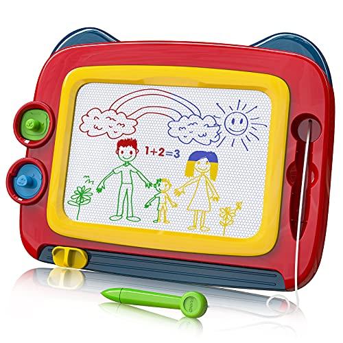 TENOL Maltafel Zaubertafel Stempel Kinder Maltafel für Kinder ab 3 Kleinkinder Spielzeug ab 3 Jahre...