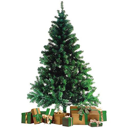 Wohaga® Künstlicher Weihnachtsbaum Tannenbaum inklusive Christbaumständer 180cm / 600 Spitzen...