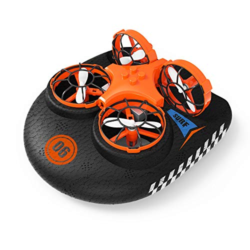 EACHINE E016F Boot Drohne Ferngesteuertes Boot Racing Hovercraft Abnehmbar Amphibious Vehicle Spielzeug...