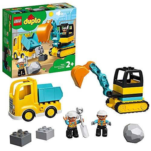 Baufahrzeug-Spielzeugset 'Bagger und Laster' von LEGO duplo