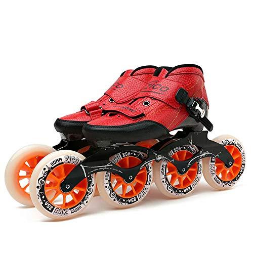 Inline-Skates für Erwachsene - Sport Inline-Skates Stilvolles Design Anfänger-Rollschuhe für Jungen...