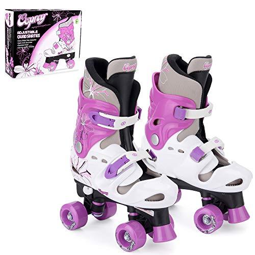 Osprey Roller Skates für Mädchen – klassische, zweispurige Rollschuhe für Anfänger –...