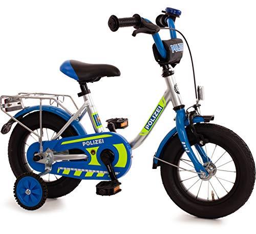 Unbekannt Kinderfahrrad 12 Zoll mit Stützräder und Rücktrittbremse Jungen Mädchen Fahrrad für Kinder...