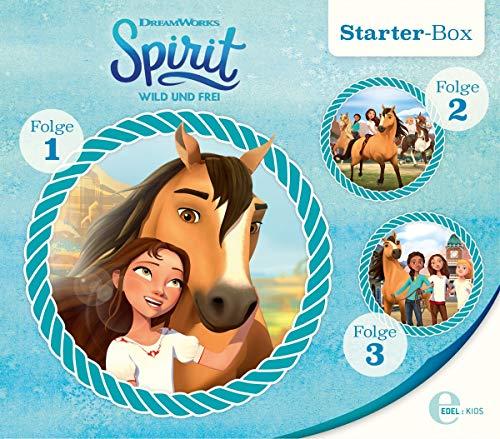 Spirit: wild und frei - Starter-Box (1-3) - Das Original-Hörspiel zur TV-Serie