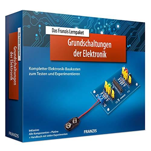 Das Franzis Lernpaket Grundschaltungen der Elektronik: Kompletter Elektronik-Baukasten zum Testen und...