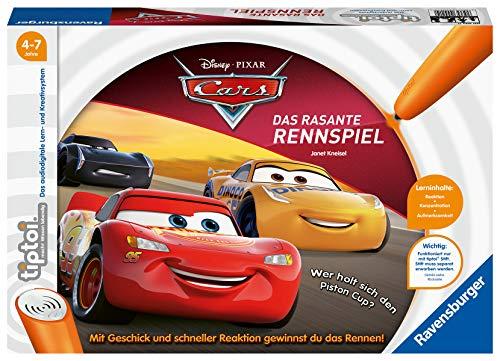 Ravensburger tiptoi Cars - Das rasante Rennspiel, ab 4 Jahren
