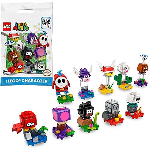 LEGO 71386 Super Mario Mario-Charaktere-Serie 2 Paket, Spielzeug zum Sammeln, 1 Einheit (zufällig...