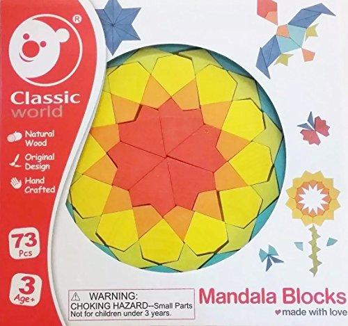 Classic World Mandala Blocks