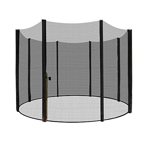 Aufun Trampoline Sicherheitsnetz Ø 305 cm Ersatznetz aus Polyethylen für Gartentrampolin 8 Stangen 180...