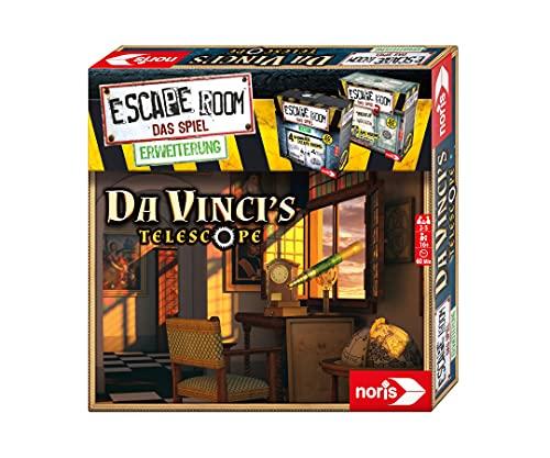 noris 606101965 - Escape Room Erweiterung Da Vinci's Telescope - Familien und Gesellschaftsspiel für...