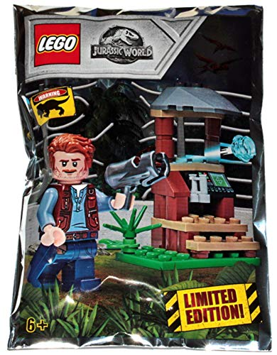 LEGO Jurassic World - Limited Edition - Owen foil Pack