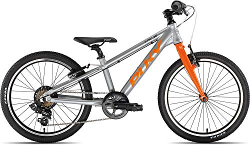 Puky LS-Pro 20-7 Alu Kinder Fahrrad silberfarben/orange