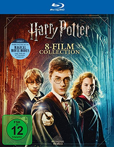 Harry Potter: The Complete Collection - Jubiläums-Edition [Blu-ray]