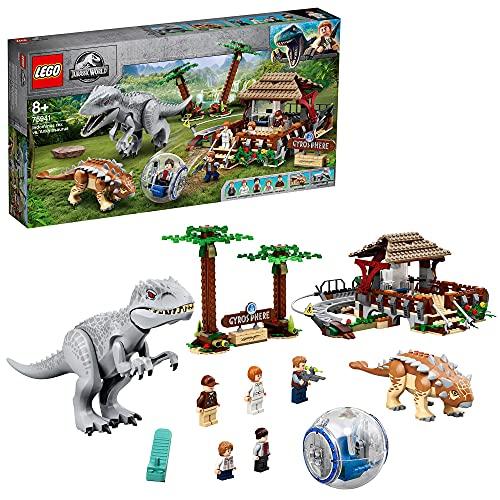 Spielzeug-Dinosaurier-Set 'Indominus Rex vs. Ankylosaurus' von LEGO Jurassic World