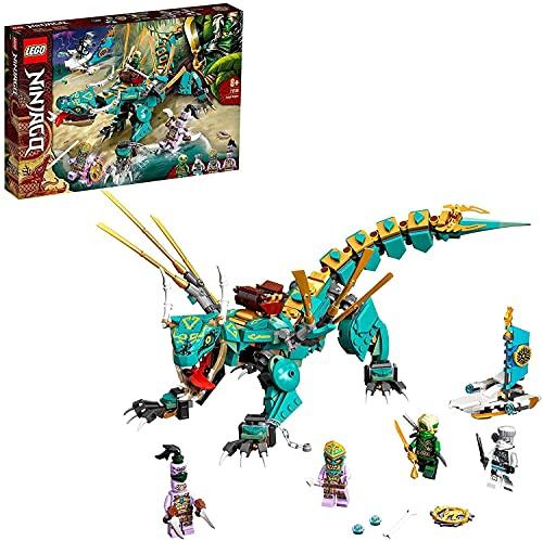 LEGO71746NINJAGODschungeldracheBauset,mitNinjaLloydundZaneMinifiguren,DracheSpielz...
