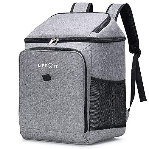 Lifewit 26L Kühlrucksack Thermo Rucksack Kühltasche Isolierte Cooler Bag Weich Doppeldecker für...