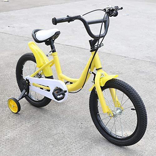 Kinderfahrrad 16 Zoll Jungen Mädchen Fahrrad ab 4-8 Jahre Kinder Laufrad Jungenfahrrad Mädchenfahrrad...