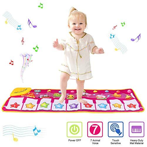 PROACC Klavier Playmat, Kinder Klaviertastatur Musik Playmat Spielzeug, große Größe (39 * 14 Zoll)...