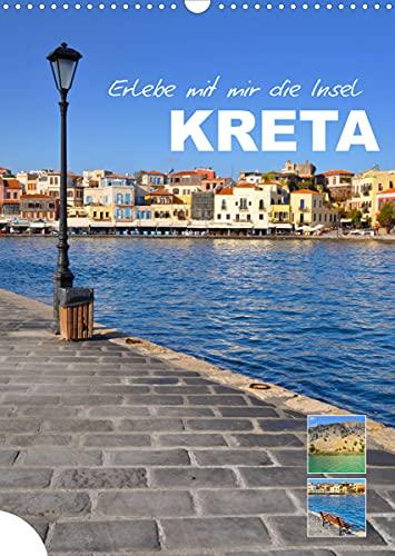 Erlebe mit mir die Insel Kreta (Wandkalender 2022 DIN A3 hoch)