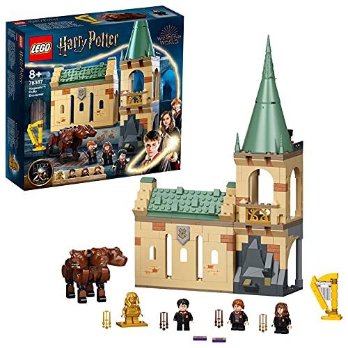LEGO 76387 Harry Potter Hogwarts: Begegnung mit Fluffy Set, Spielzeug ab 8 Jahre mit Hermine als goldene...